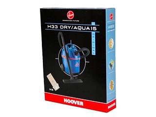 Hoover H75 Confezione 4 Sacchetti Microfibra per Aspirapolvere Thunder Space