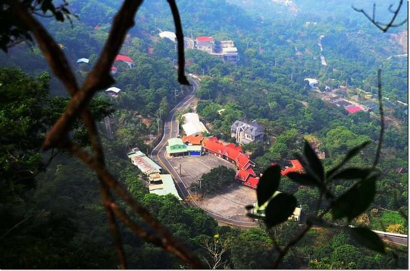 烏山步道俯瞰南化風景區 2
