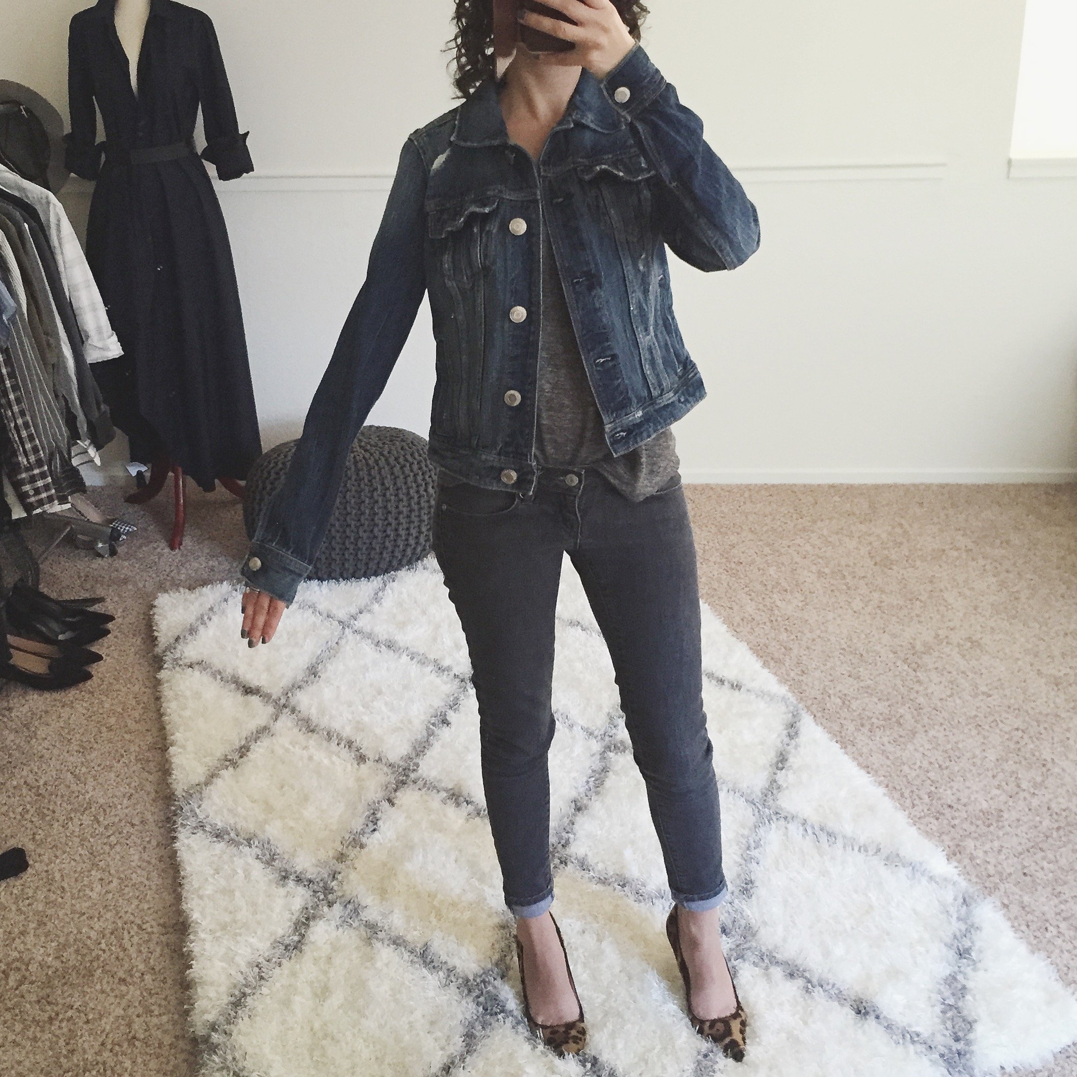 Review American Eagle Denim Jacket xxs