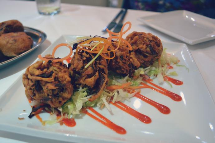 Shri Beemas onion bhaji