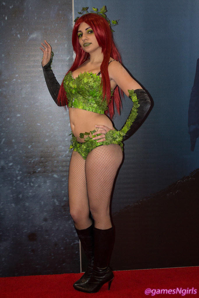 Supervillain >> Poison Ivy cosplay | Cosplay of DC Comics sexy ...
