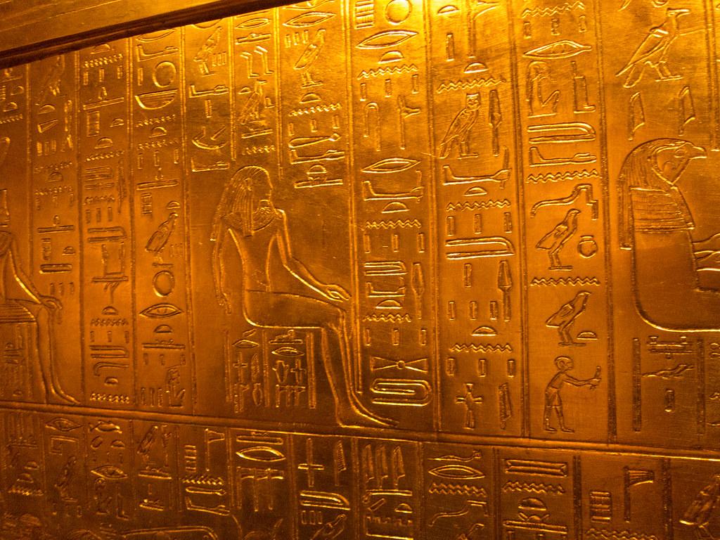 Golden Hieroglyphics  Berlin 2013 Thomas Quine Flickr