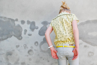 Zonen 09's mustard stickly rockers | by Polkadotjes.