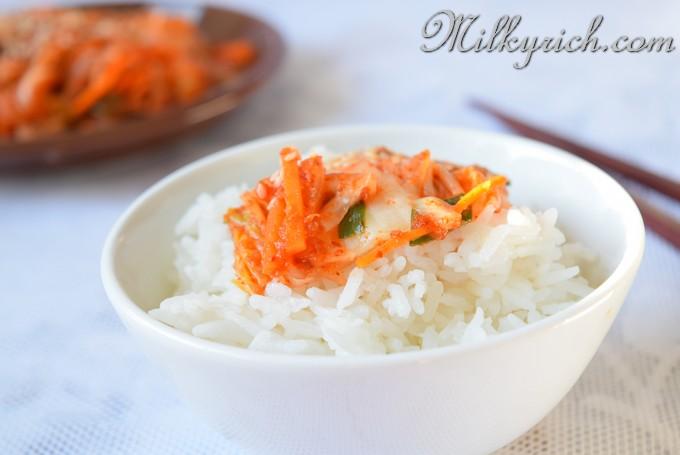 22 - kim chi cơm