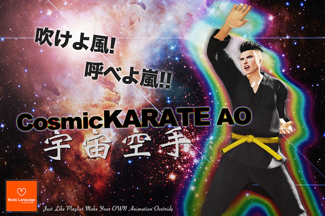 Cosmic KARATE AO @ ORIGAMI