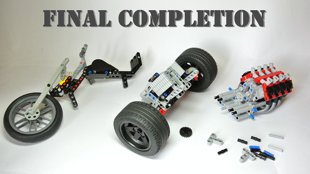 How To Build The Lego Technic Trike Moc Video Assembly I Flickr