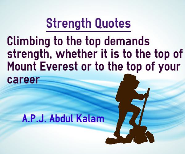 Strength Quotes Climbing To Top Demands Strength Strength Flickr