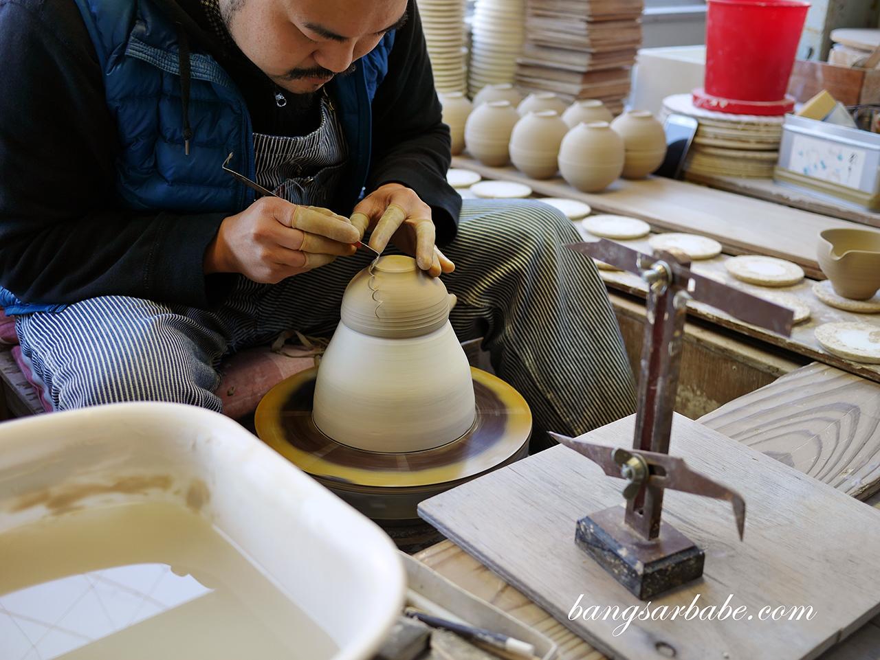 Tobe-yaki Pottery