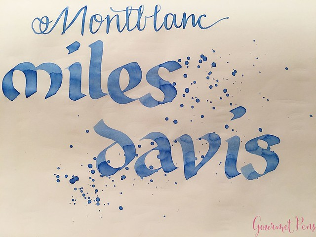 Ink Shot Review Montblanc Miles Davis Jazz Blue @couronneducomte 1