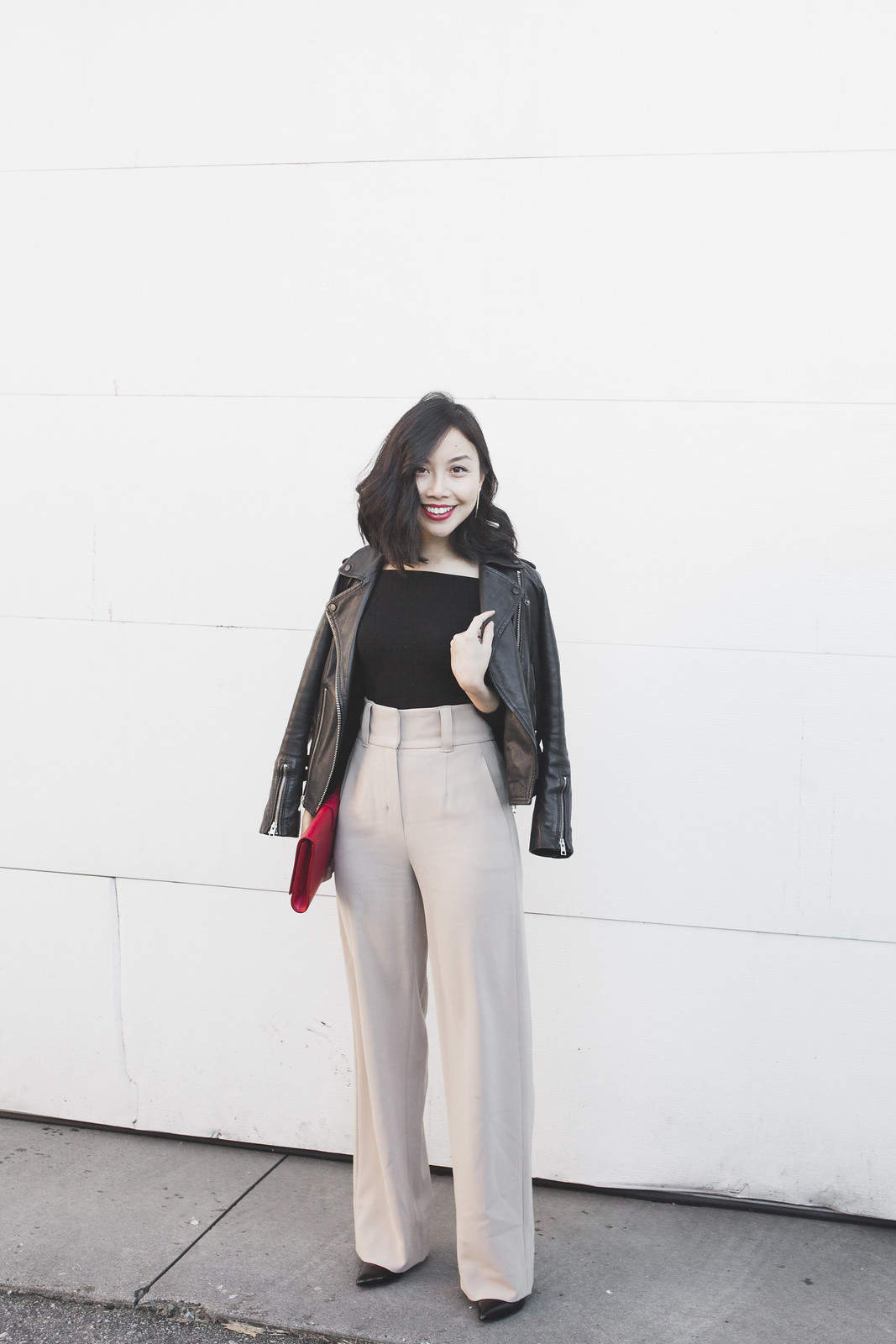 how to wear wide leg pants