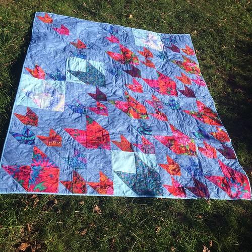 John Adams quilt