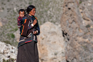 Dolpa Woman and her Baby | by ::ErWin