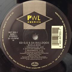 ED O.G & DA BULLDOGS:BUG-A-BOO(LABEL SIDE-A)