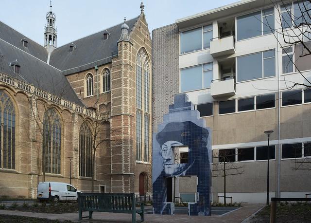 Erasmushuis monument