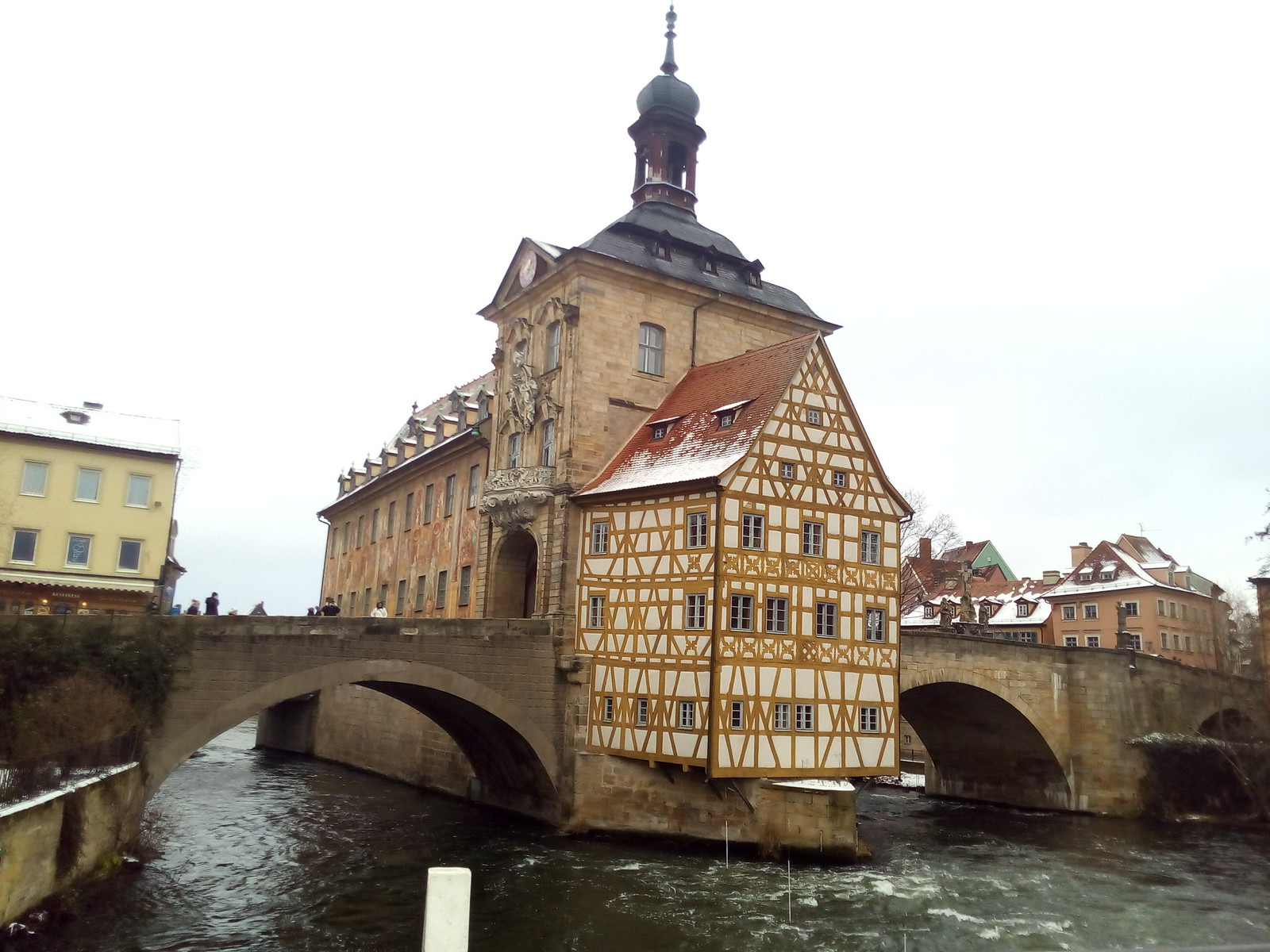 Bamberg, a antiga Rathaus