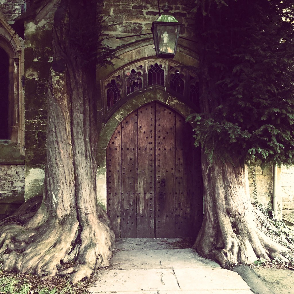 by judy dean Hobbit Door Stow on the wold church. | by judy dean & Hobbit Door Stow on the wold church. | It is said that Tolku2026 | Flickr
