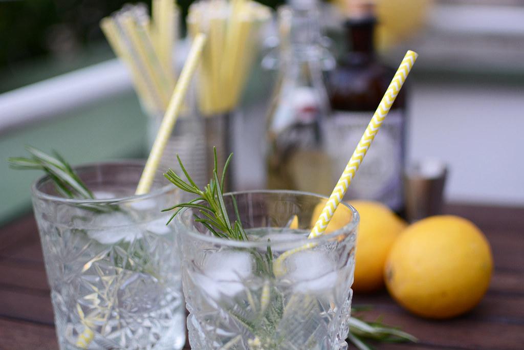 Rosmarin-Zitronen-Drink