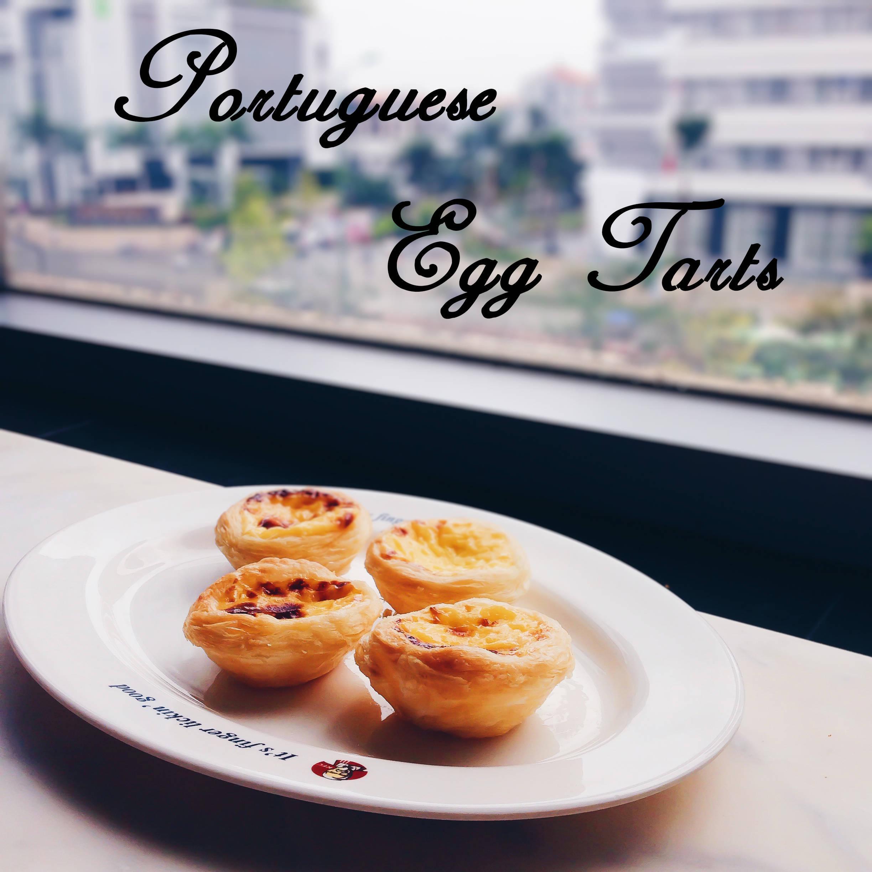 Portuguese egg tarts cover