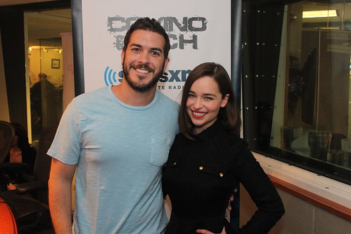 Emilia Clarke on the Covino & Rich Show