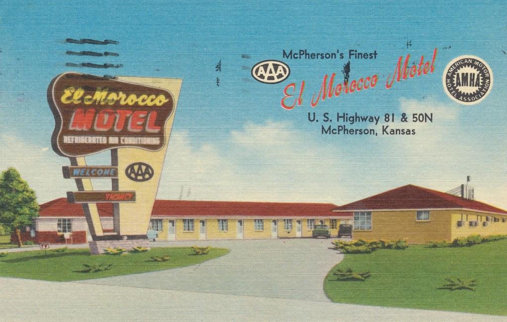El Morocco Motel - McPherson, Kansas
