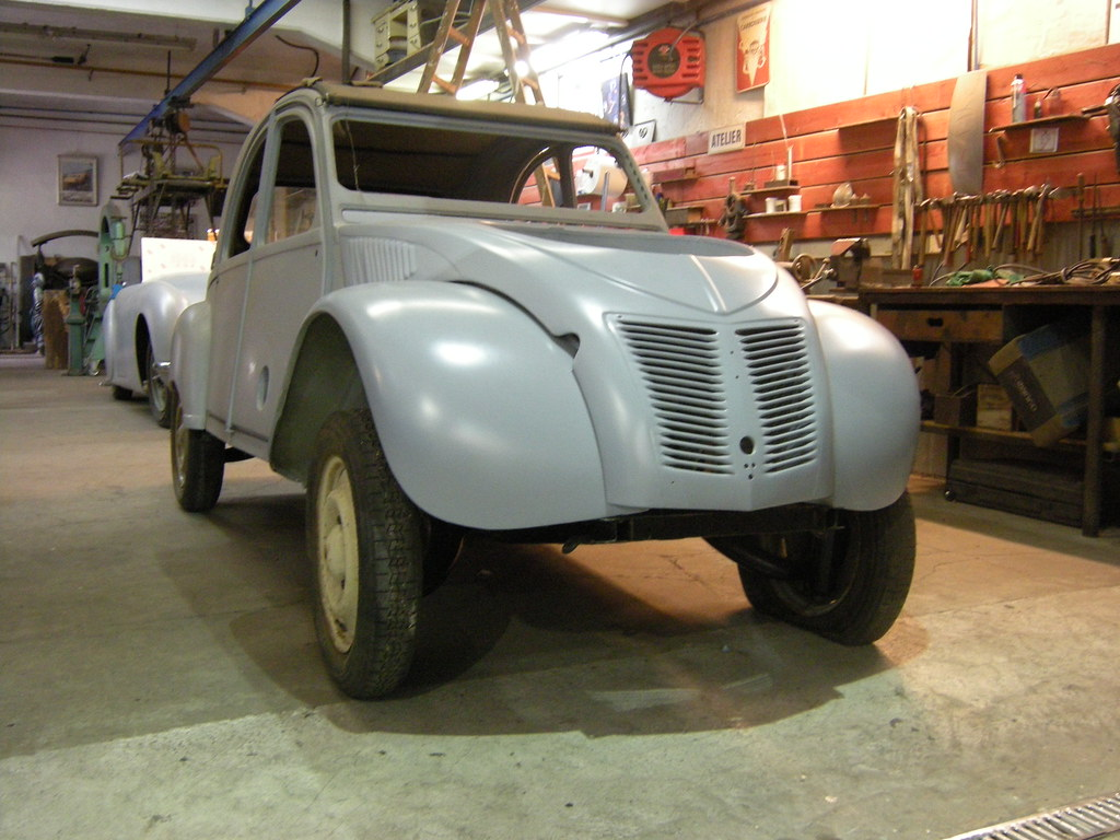 citroen 2cv sahara 4x4 avec un moteur pour les roues avant flickr. Black Bedroom Furniture Sets. Home Design Ideas