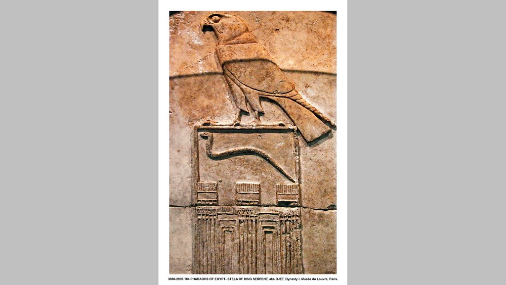 3000 2900 184 pharaohs of egypt stela of king djet aka t flickr