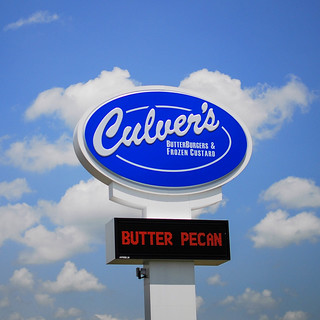 Culver's better burgers and frozen custard