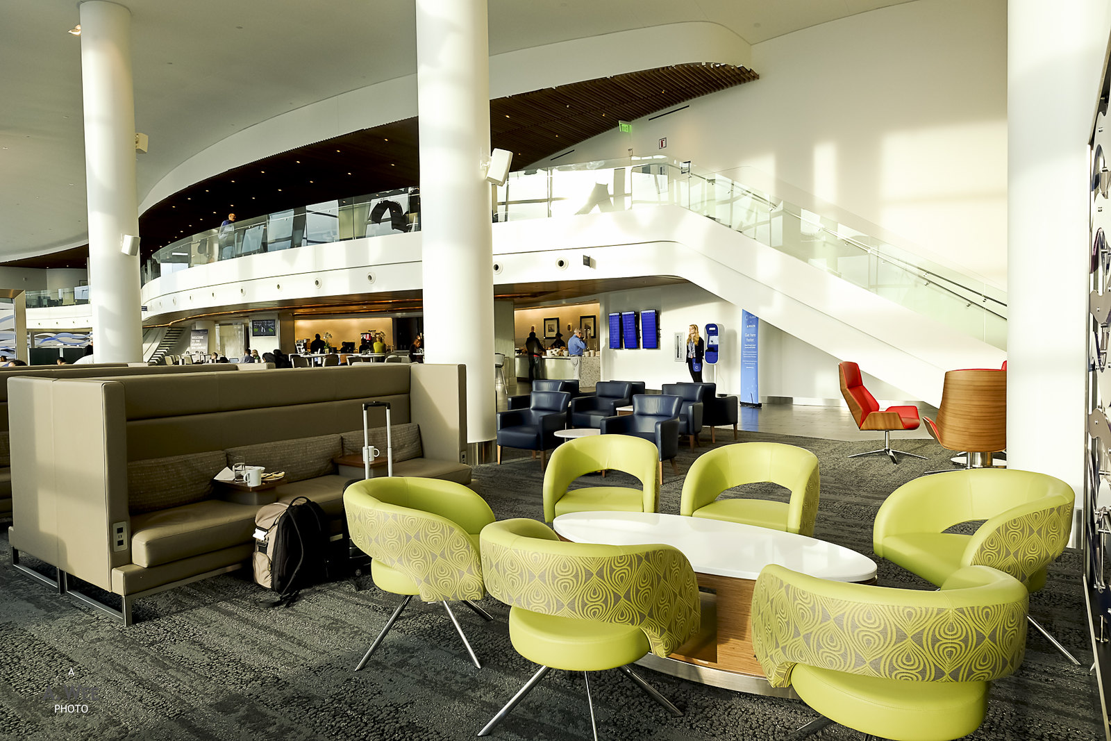 Group seats in the lounge