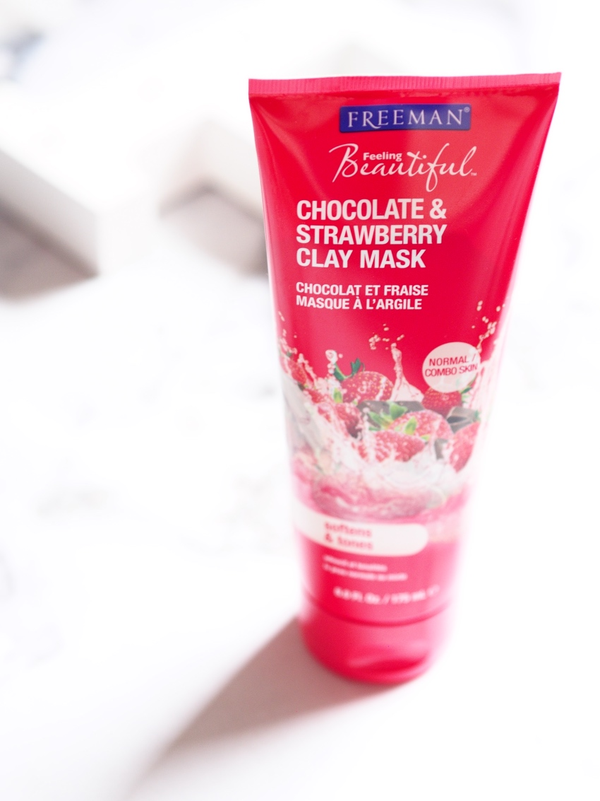 Freeman Chocolate & Strawberry Clay Mask