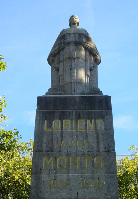 Lorient War Memorial Close-up