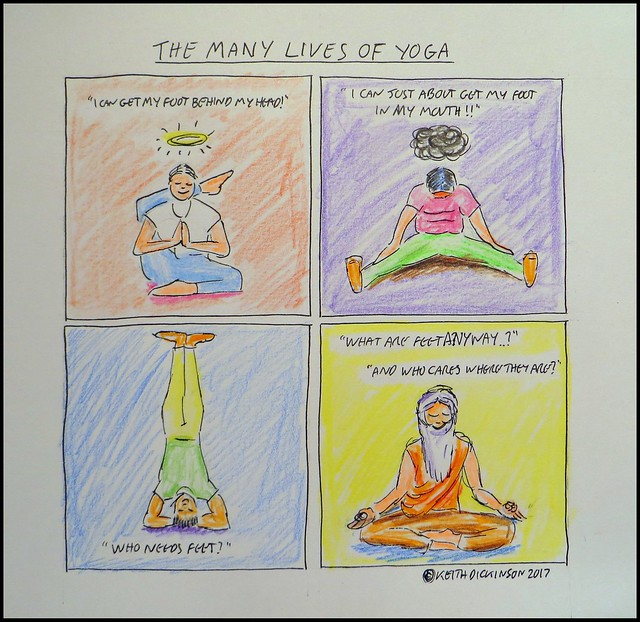 the many lives of yoga