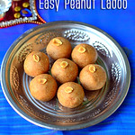 Easy peanut ladoo - Kadalai laddu recipe