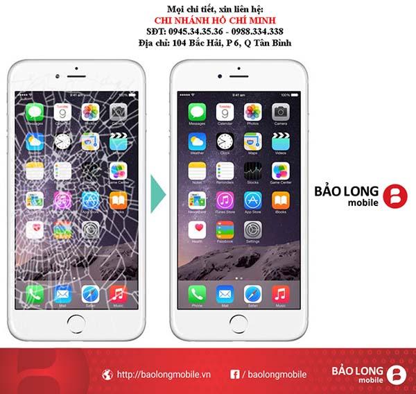 Bằng cách gì để nhận biết được độ hư hại trước khi thay màn hình iPhone 6 plus