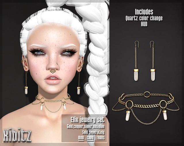kibizt elix jewelry set