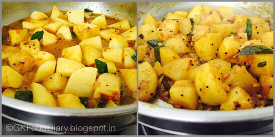 South Indian Potato Roast - step 3