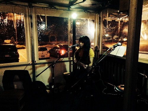 Ana at Tapped Open Mic (June 29 2014) (1)
