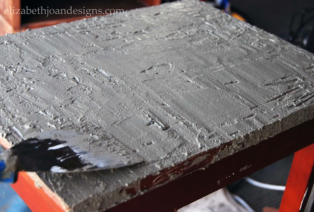 DIY Concrete Plant Stand