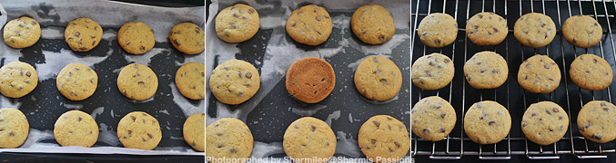 How to make choco chip cookies - Step5