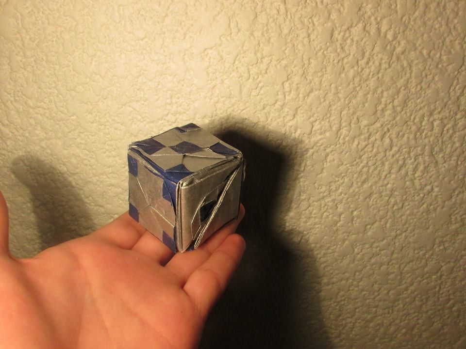 Origami Dice Tanaka Masashi Origami Dice Tanaka Masash Flickr