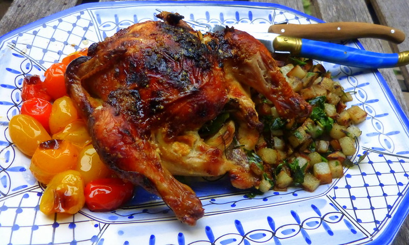 herb roasted cornish hen