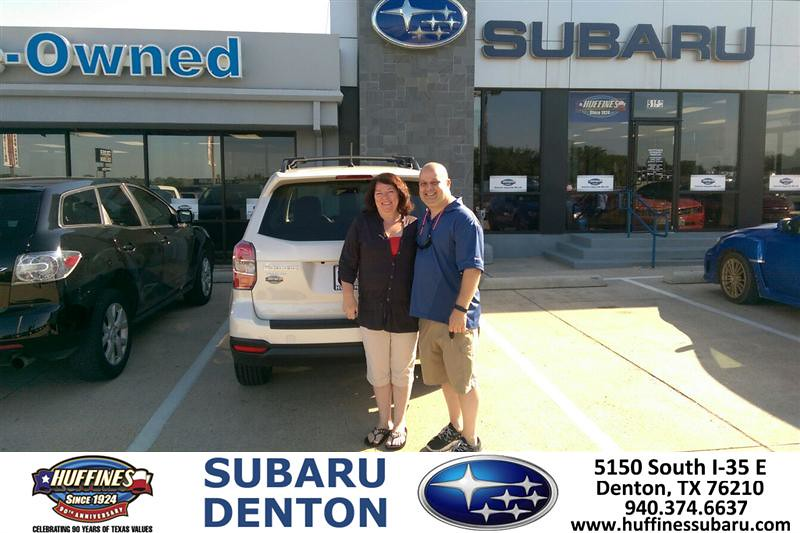 Congratulations To Mike And Hope Hill On Your Subaru For