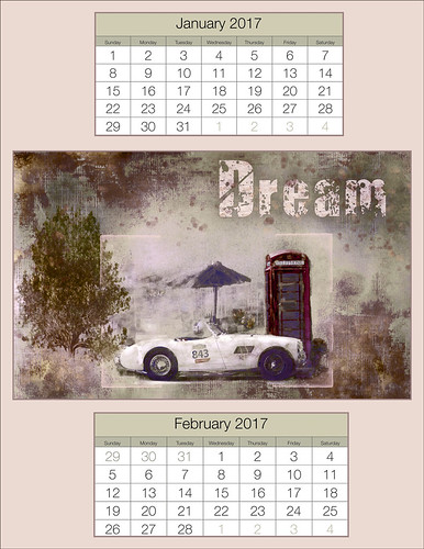 Image of a January/February 2017 Calendar