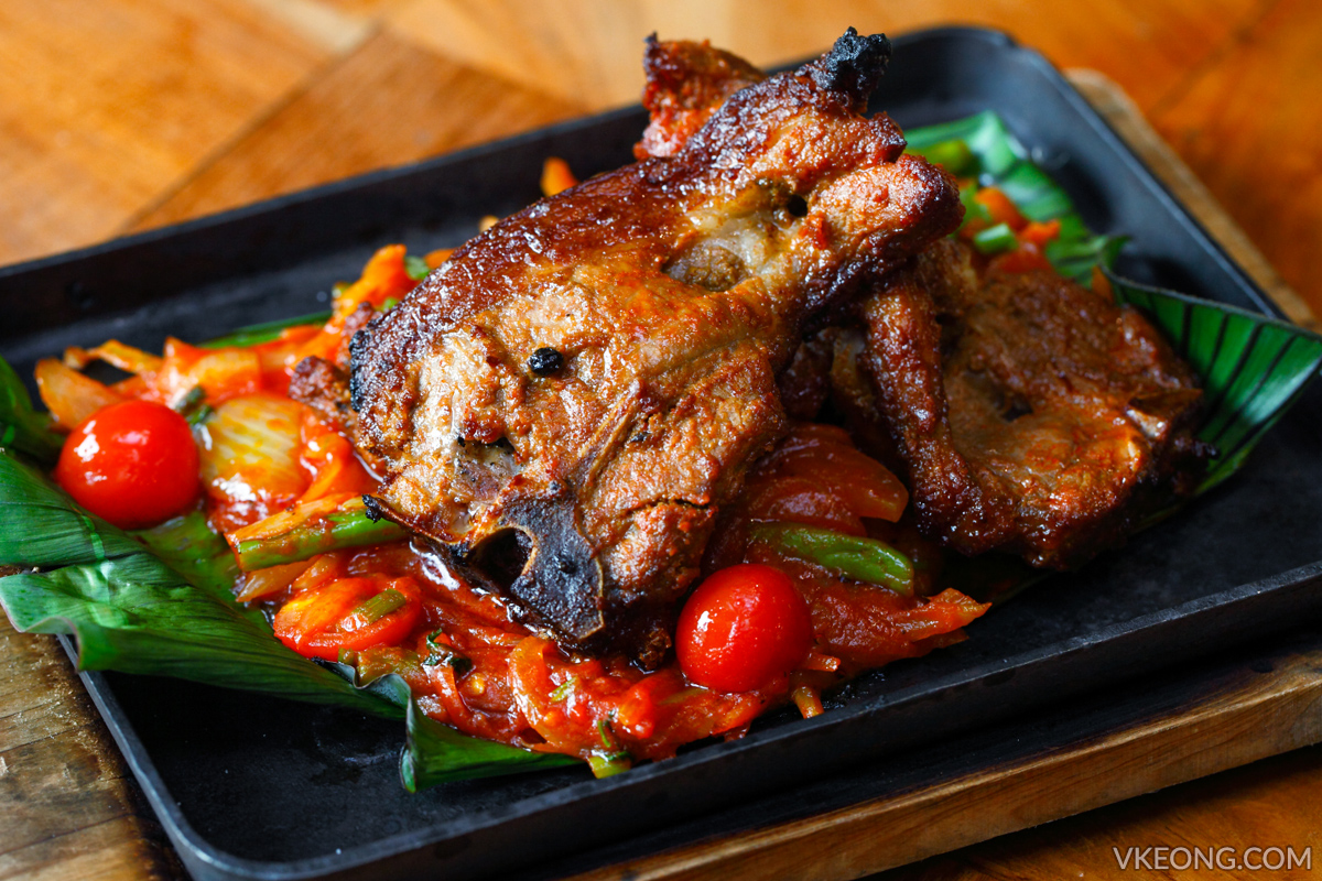 SOULed Out Sizzling Lamb Chops