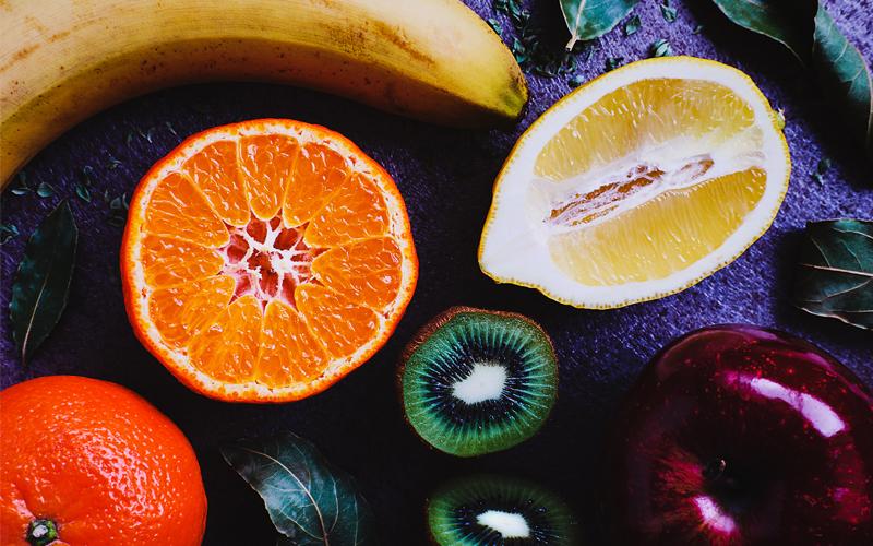 BODY雜誌 水果 柳橙 奇異果 橘子 香蕉 柚子