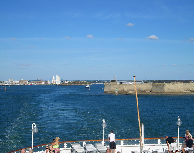 Lorient and Fort from Beyond River Mouth