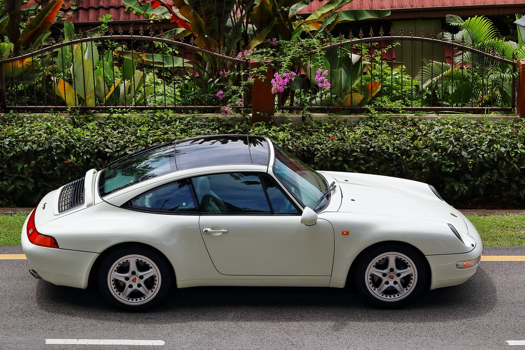 Porsche 993 Targa The Glass Roof Supercar 1996 Porsche
