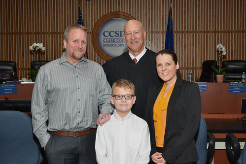 Trustee Brooks and family at the 2017 Oath of Office | by District E - Trustee Lola Brooks