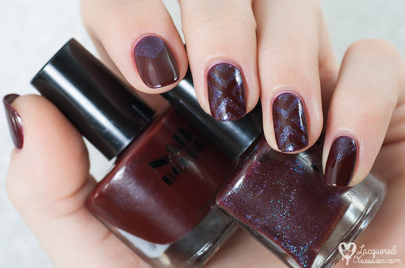 H&M - Dark Purple Duo