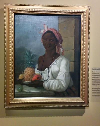 Portrait d'une femme haïtienne, François Malépart de Beaucourt
