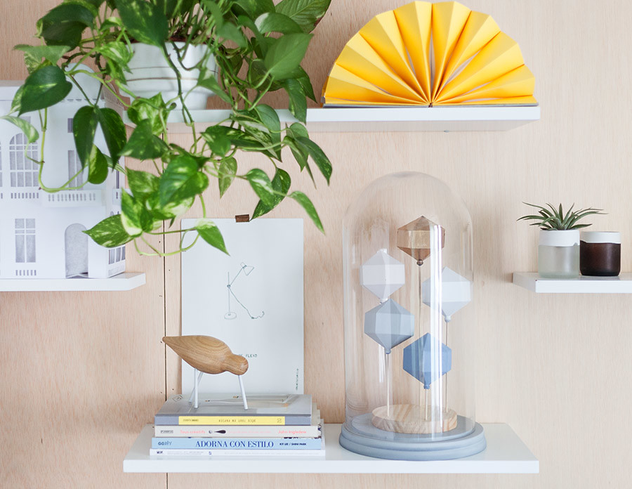DIY Campana de cristal con figuras geométricas · DIY Dome with geometic sculptures · Fábrica de Imaginación · Tutorial in Spanish